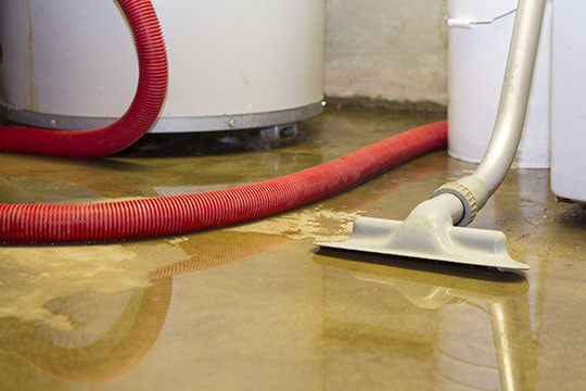 Appliance Leak Cleanup Services